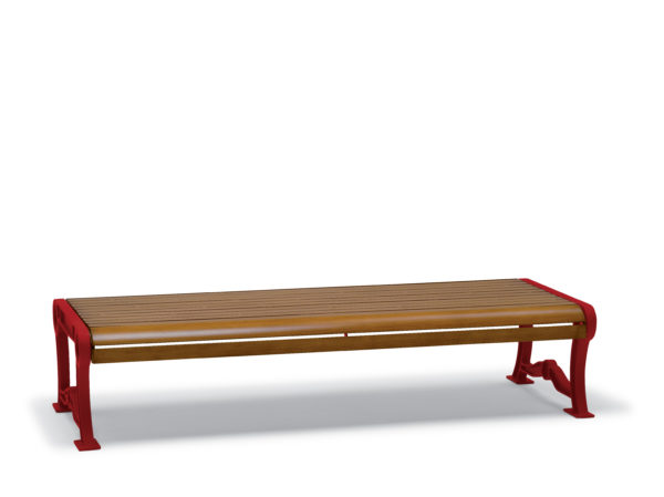 Outdoor Bench without Back - Butler Collection - Portable/Surface Mount
