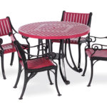 Round Outdoor Patio Table - Table Only - Classic Series Portable