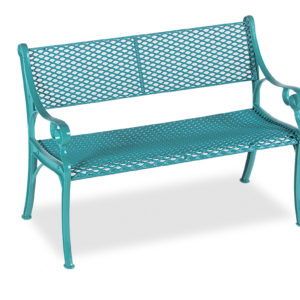 4' Outdoor Bench Loveseat - Classic Series - Portable/Surface Mount