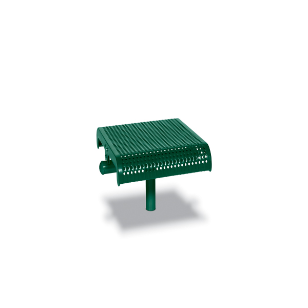 Single Straight Outdoor Bench Seat without Back - City Limits Series