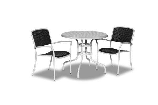 Outdoor Table Only - Round Standard Base Tables - Camino Series - Portable