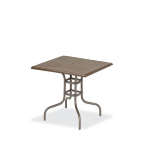 36 x 36 Square Standard Outdoor Table Square Perforated - Table Only - Camino Series