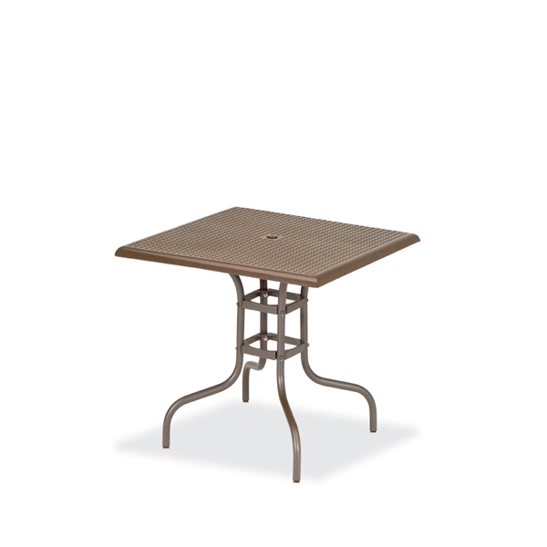 36 x 36 Square Standard Outdoor Table Square Perforated – Table Only – Camino Series