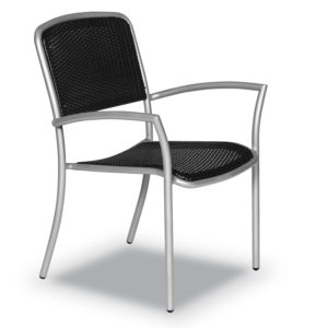 Outdoor Arm Chair - Black Weave Insert - Hanna Collection