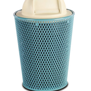 32 Gallon Tapered Outdoor Trash Receptacle - Classic Collection