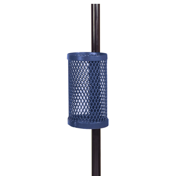 10 Gallon Pole Mount Outdoor Trash Receptacle – Classic Collection