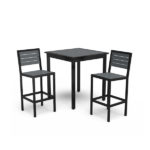 Round and Square Outdoor Pedestal Tables - Hanna Collection