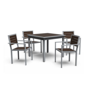 Outdoor Dining Tables - 4 Legged - Green Valley
