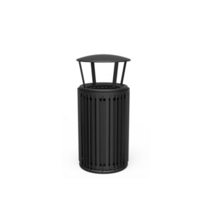 "Elegance - ""N"" Style 55 Gallon Outdoor Trash Receptacle"