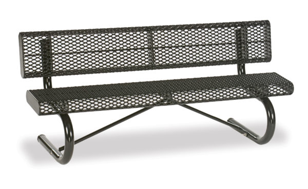 Outdoor Benches with Back - Prestige Series