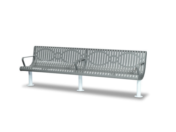 8 foot Contour Outdoor Benches - Prestige Series