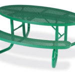 Picnic Tables - 6' Oval - Signature Series - Portable