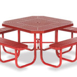46 inch Octagon Picnic Table - Signature Series - Portable
