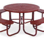 46 inch Round Picnic Table - Signature Series - Portable