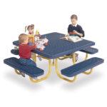 Children's Square 46 inch Portable Picnic Table - Signature Series