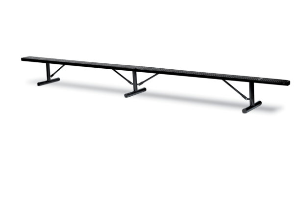 "10' and 15' Outdoor Benches without back - 10"" Wide Seats - Signature Series"