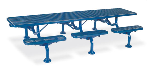 Picnic Table - 11 foot - Spyder Series - Portable/Surface Mount or Inground