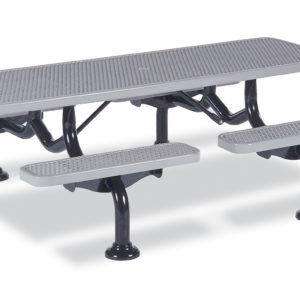 Picnic Table - 7 foot - Spyder Series - Portable/Surface Mount or Inground