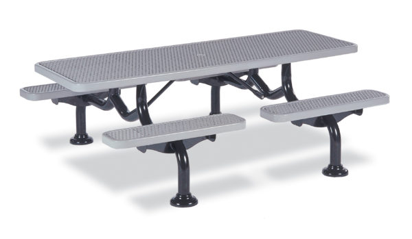 Picnic Table – 7 foot – Spyder Series – Portable/Surface Mount or Inground