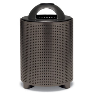 """Elegance - """"E"""" Style 32 Gallon Outdoor Trash Receptacle with Liner"""