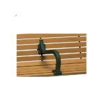 Outdoor Bench Center Armrest Package - Courtyard Series