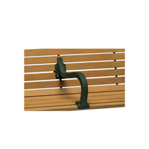 Outdoor Bench Center Armrest - Covington Collection