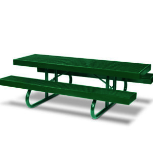 Rectangular 8 foot Picnic Table - Snow Load - Designer Series