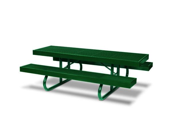 Rectangular 8 foot Picnic Table - Snow Load - Designer Series