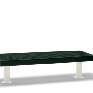 Outdoor Bench without back - Double - Designer Series