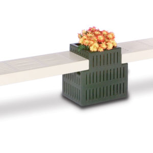 Outdoor Bench/Planter - Bench Only - Designer Series