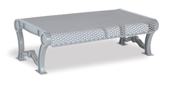 4 foot and 6 foot Outdoor Bench without Back - Estate Series