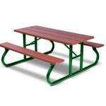 6 foot & 8 foot Picnic Tables - Green Valley - Portable