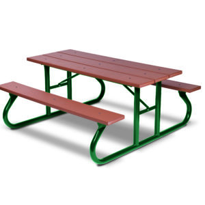 6 foot & 8 foot Picnic Tables - Green Valley - Portable