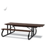Square Picnic Table - Green Valley - Portable
