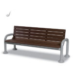 Outdoor Bench Center Armrest - Estate Series
