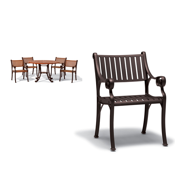 Outdoor Arm Chair – Chair Only – Madison Collection