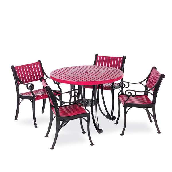 Round Outdoor Patio Table – Table Only – Classic Series Portable