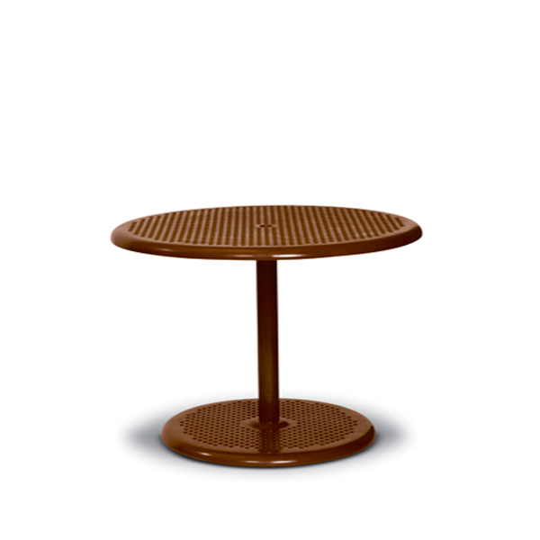 Round Outdoor Pedestal Table – Portable Table Only – Camino Series