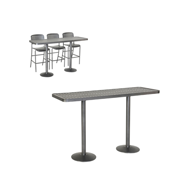 Outdoor Community Tables – Bar Height – Hanna Collection