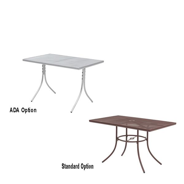 Outdoor Rectangular Tables – Sullivan Collection