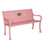 Breast Cancer Awareness Memorial Outdoor Bench