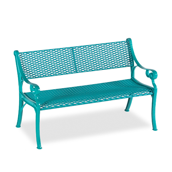 4' Outdoor Bench Loveseat – Classic Series – Portable/Surface Mount