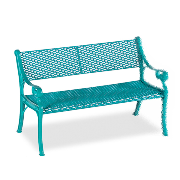 4′ Outdoor Bench Loveseat Add-On  – Classic Series – Portable/Surface Mount