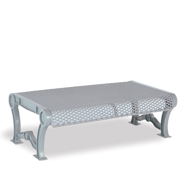 4 foot and 6 foot Outdoor Bench without Back – Estate Series
