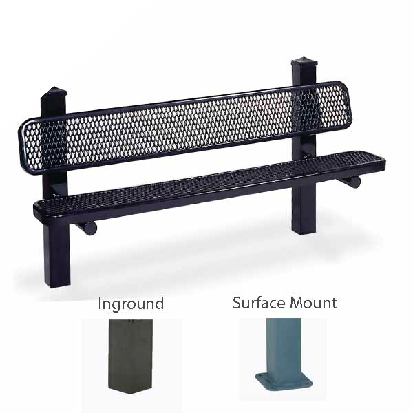 Outdoor Pedestal Benches – Signature Series