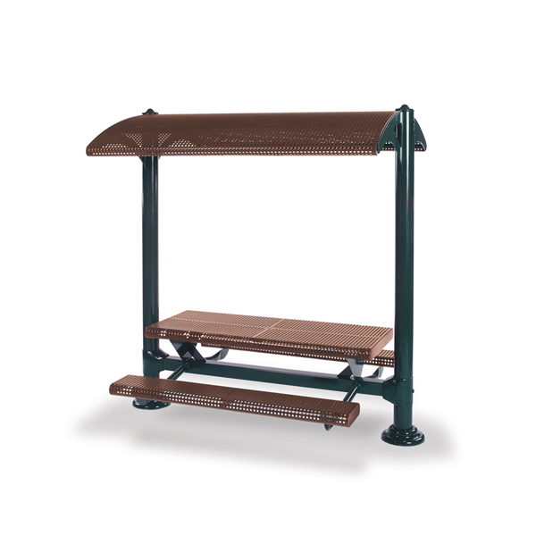 Shelter with 6 foot Table and Benches – Shadeland Series