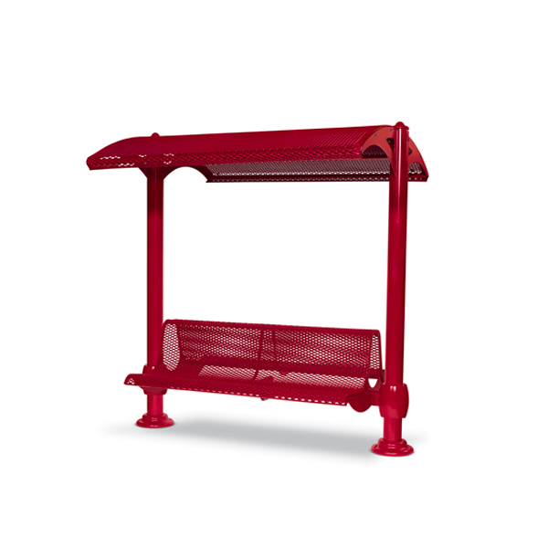 Shelter with 6 foot Double Bench – Shadeland Series