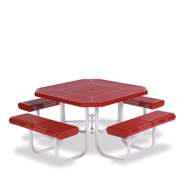 46 inch Octagon Picnic Table – Prestige Series – Portable