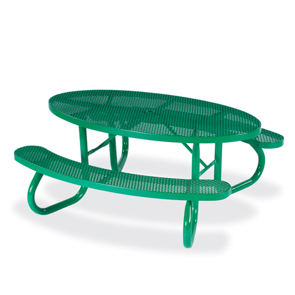 Picnic Tables – 6′ Oval – Signature Series – Portable