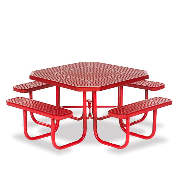 46 inch Octagon Picnic Table – Signature Series – Portable
